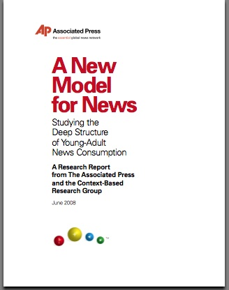 AP - A New Model for News Report