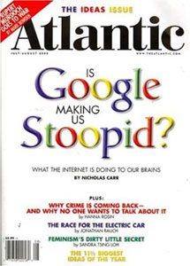 Is Google Making us Stopid? I think not!