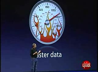 Steve Jobs on Faster Data