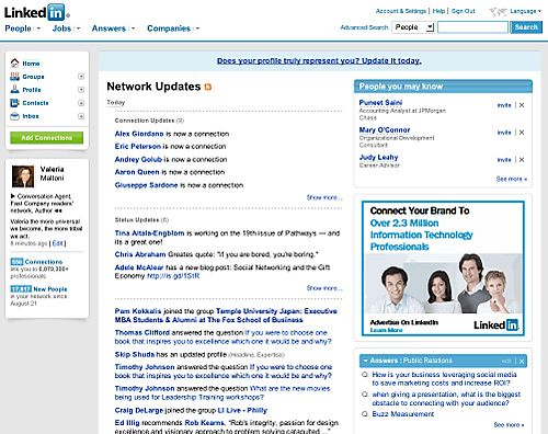 ConversationAgent LinkedIn Home