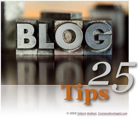 25 Tips for Blogging