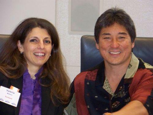 Valeria Maltoni with Guy Kawasaki