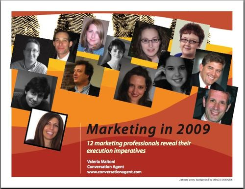 Marketing in 2009 Cover