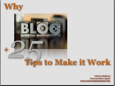 WhyBlog+25TipstoMakeitWork