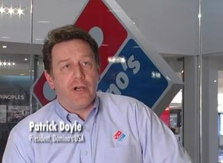 Domino's Patrick Doyle on YouTube