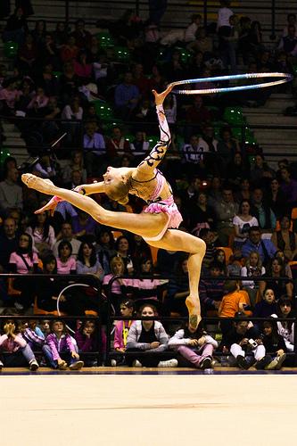 Stryuchkova Olga Rhythmic Gymnastics
