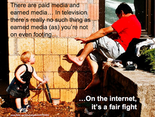 Paid and earned media