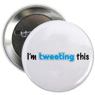 I'm tweeting this