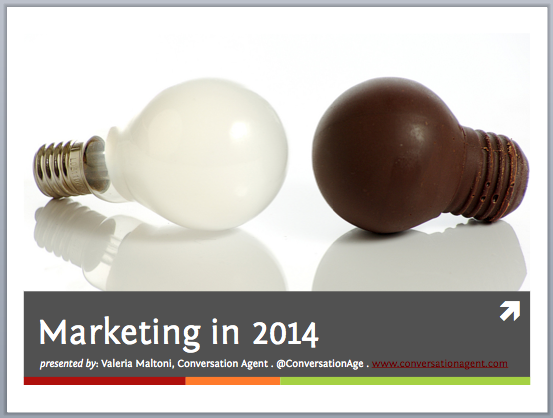 Conversation Agent_Marketing in 2014