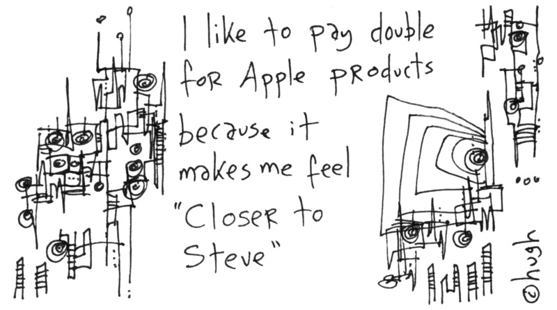 Closer to Steve Jobs