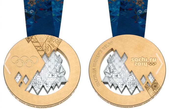 Sochi Gold Medal 2014