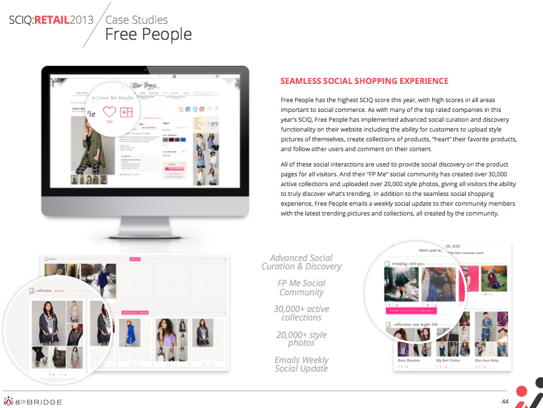 Free People | Social Retail case study - 2013
