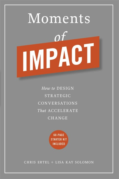How to Design a Conversation of Impact