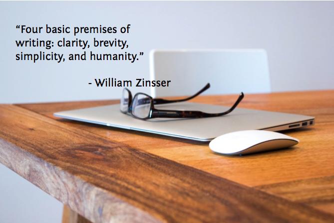 Four basic premisesof writing