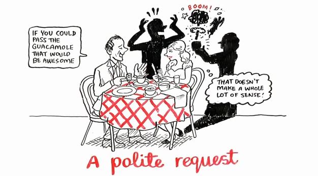 A polite request?