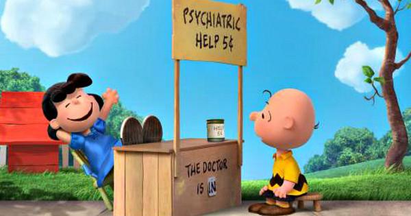 Charlie Brown asks Lucy van Pelt
