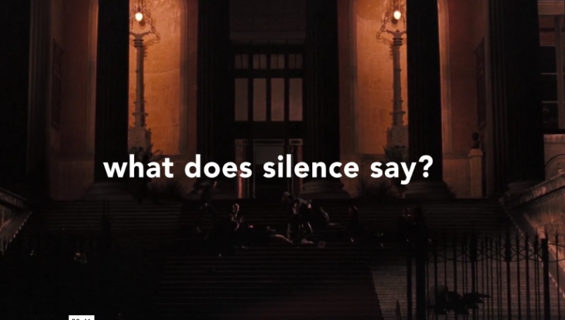 What does silence say?
