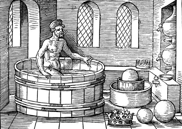 Archimedes Eureka moment