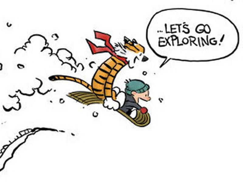 Let's go exploring