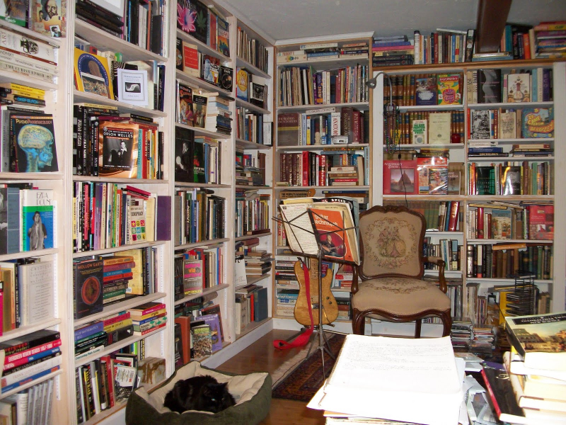 Umberto Eco's Antilibrary