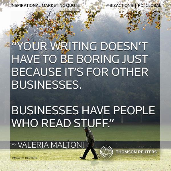 Writing for Businesses