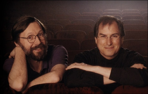 Steve Jobs and Ed Catmull