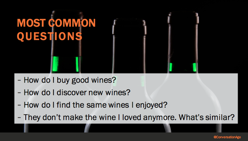 Questions about wines