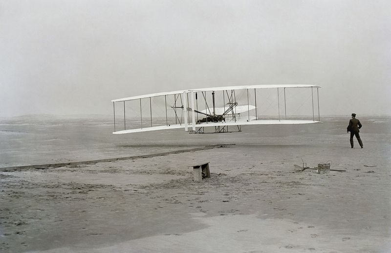 The Wright Brothers First Flight
