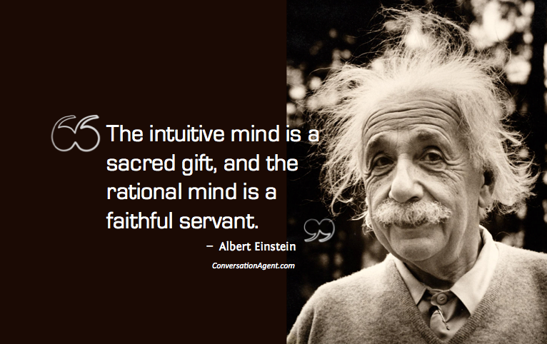 Intuitive mind and imagining