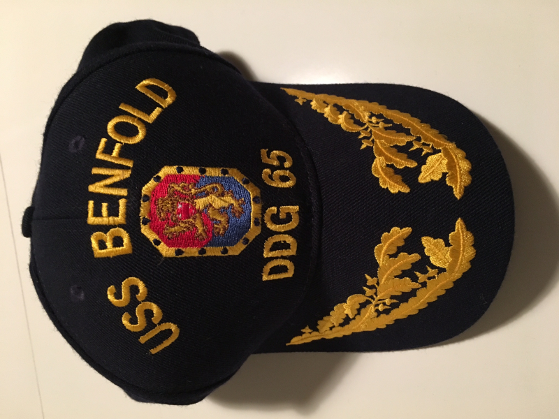 USS Benfold Hat