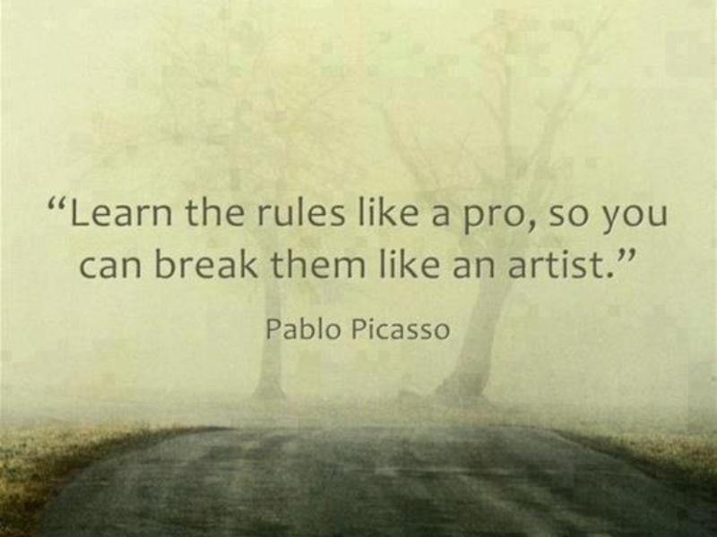 Picasso-break-rules