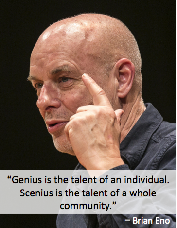 Brian Eno on Scenius