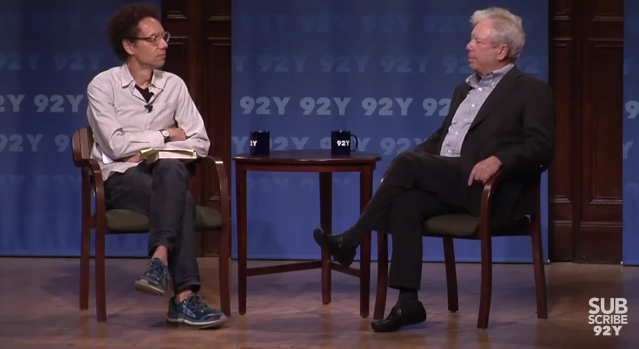 Malcolm Gladwell and Richard Thaler