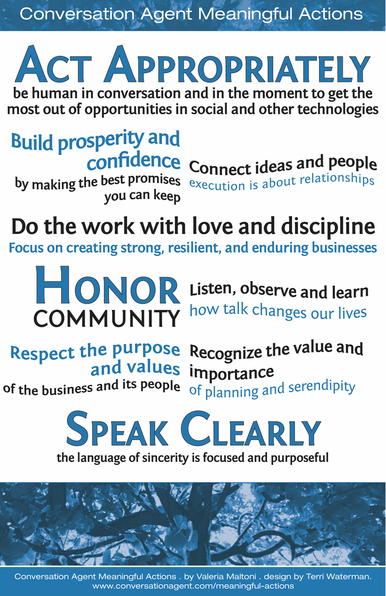 Meaningful Actions Manifesto