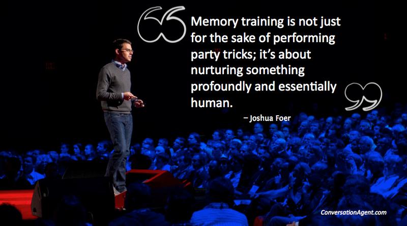 Joshua Foer Memory