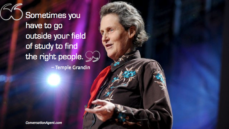 case study on temple grandin A cow's eye view cattle empathy and ethics in screen representations of temple grandin similarly captivated by grandin as a case study for these types of.
