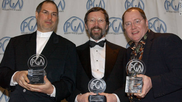 Jobs Catmull Lasseter producers guild award