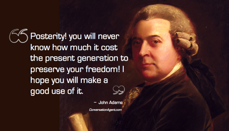 John Adams on posterity