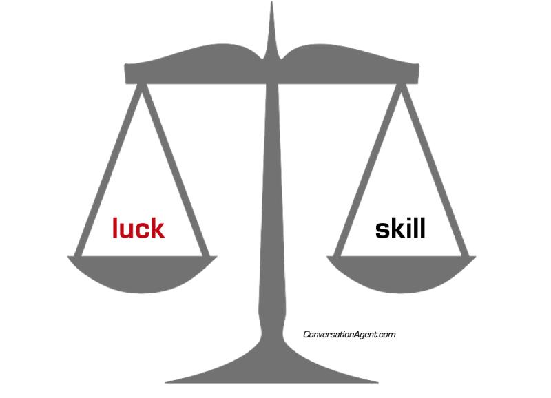 Luck vs. Skill