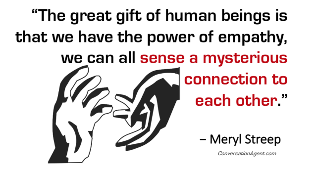 The power of empathy as connection