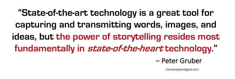 Story = state-of-the-heart technology