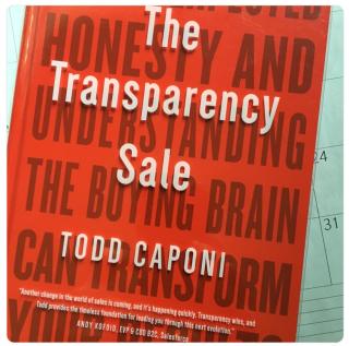 Transparency sale