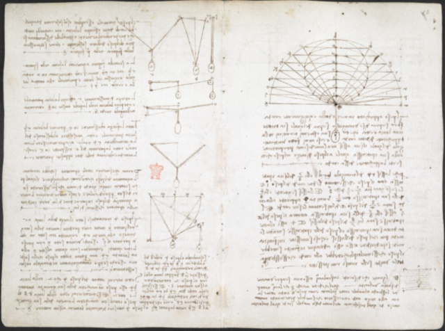 Leonardo da Vinci digitized notebook
