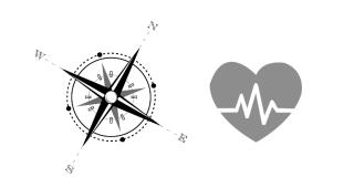 A compass and a lifeline