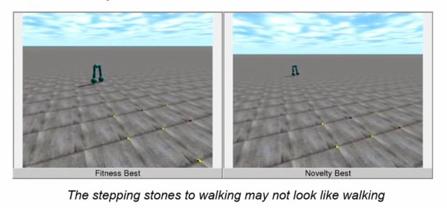 Some of the stepping stones may not look like the final result