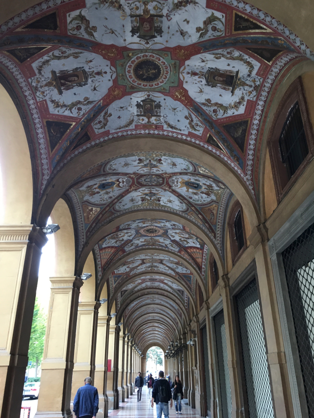 Near Piazza Cavour  Bologna